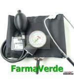 Tensiometru mecanic MINUTO cu stetoscop incorporat 32708 GIMA