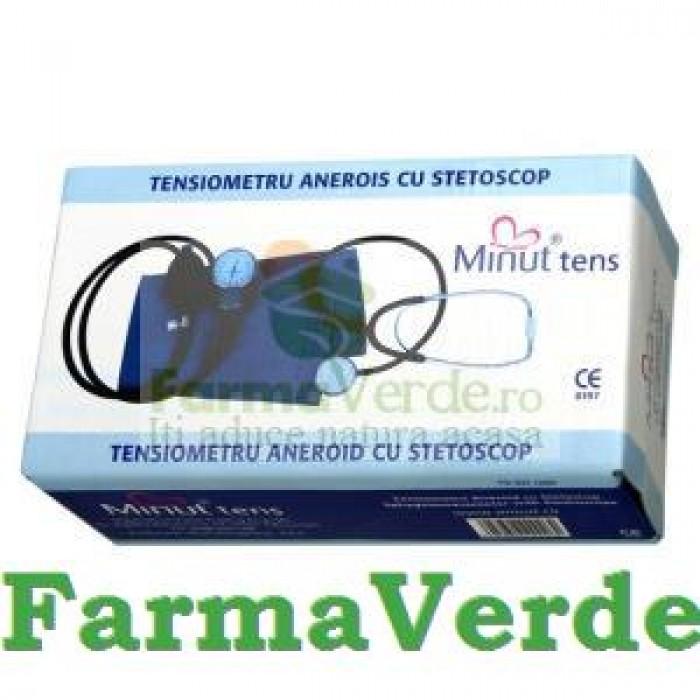 Tensiometru Aneroid cu Stetoscop Minut Vision Trading