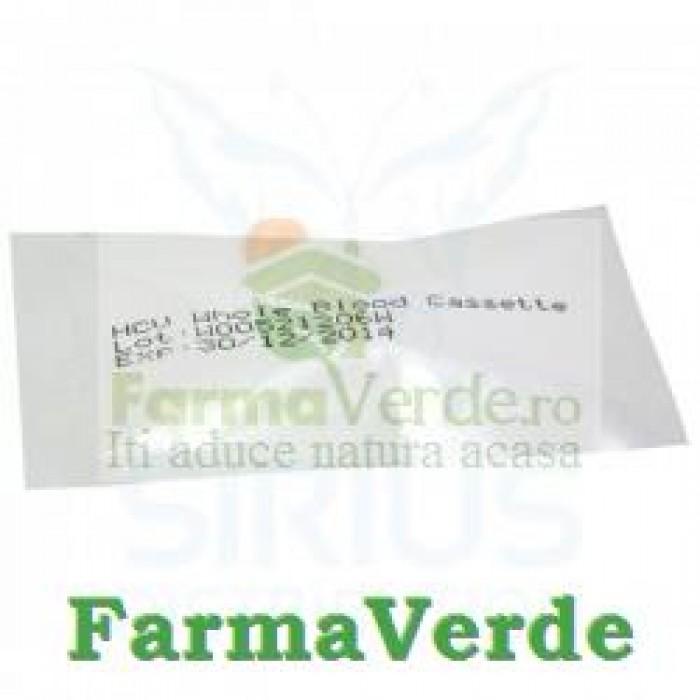 Test HBSAG Hepatita B Caseta Ser/Plasma 1 buc Vetro Design