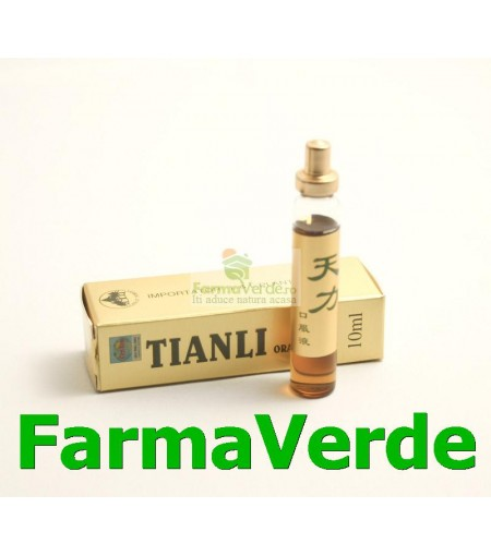 TianLi Original UltraPower Potenta Maxima!1 Fiola Capac Auriu Set Sanye