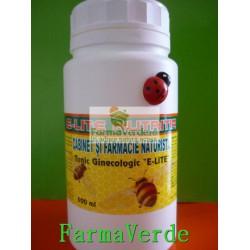 Tonic ginecologic Fibrom,Chist,Menopauza 500 ml E-LITE NUTRITIA