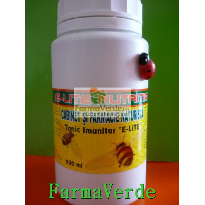 Tonic imunitar 500 ml E-LITE NUTRITIA
