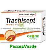Trachisept Miere + Propolis 16 Cpr Ozone Labormed