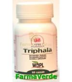 Triphala Detoxifiant al colonului 500mg 60 cps Herba Ayurvedica