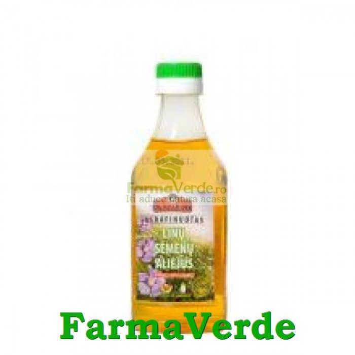 Old Miller Ulei din Seminte de In Extravirgin 200 ml
