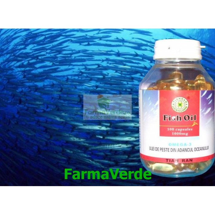 Ulei Peste Oceanic 1000 mg 100 capsule Sanye L&L Plant