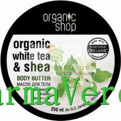 Unt corporal ceai alb si shea fermitate OS 4 Organic Shop