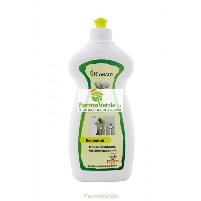 Detergent BIO pentru vase BioHAUS 500 ml Life Care