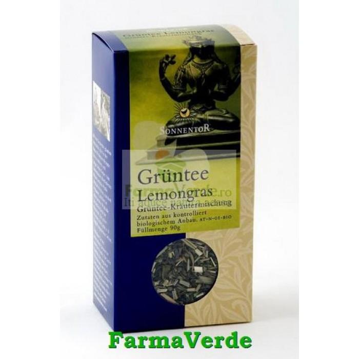 Ceai Verde Lemongrass BIO 90 gr Sonnentor