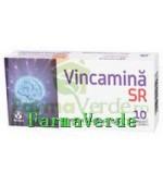 Biofarm Vincamina Sr Creier mereu tanar!10 Cpr