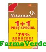 Promotie!Vitamax Q10 1+1 Pret Special! 15Capsule GlaxoSmithKline