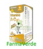 Vitamina A+D2 30 capsule gelatinoase moi ACHelcor