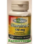 Vitamina C 100 mg 100 cpr Naturline Walmark