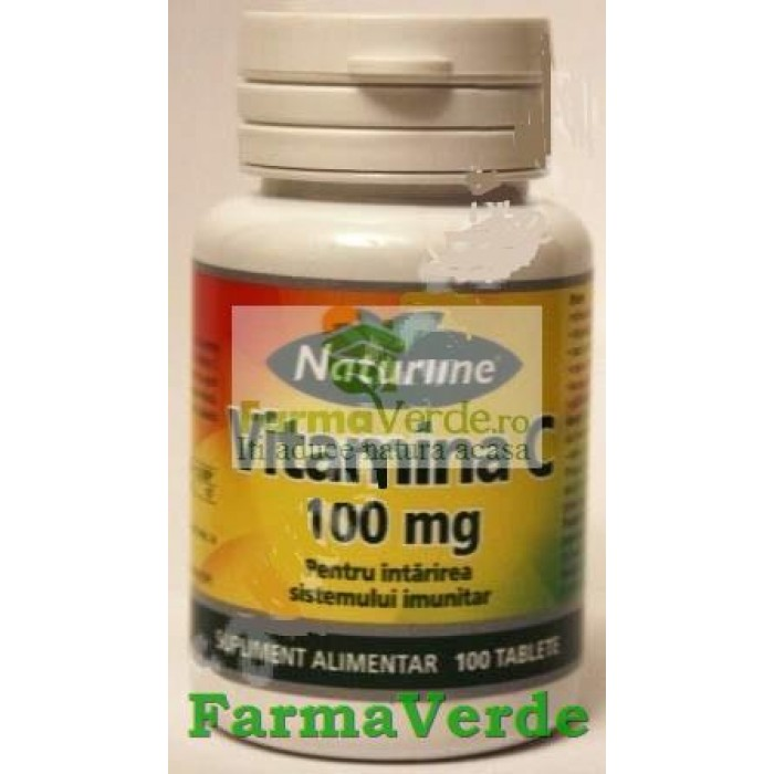 Vitamina C 100 mg 100 cpr Naturline Walmark