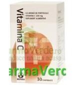 Biofarm Vitamina c 100 mg portocale 30 cpr Bioland