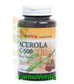 Vitamina C 500 mg cu acerola 50 cpr masticabile Vitaking