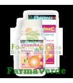 VITAMINA C 500 mg Plus ECHINACEA 20 cpr masticabile Pharmex