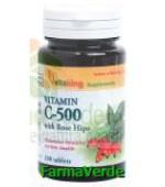Vitamina C 500 mg cu macese 100 comprimate Vitaking