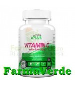 Vitamina C 500 mg 100 comprimate Natural Plus