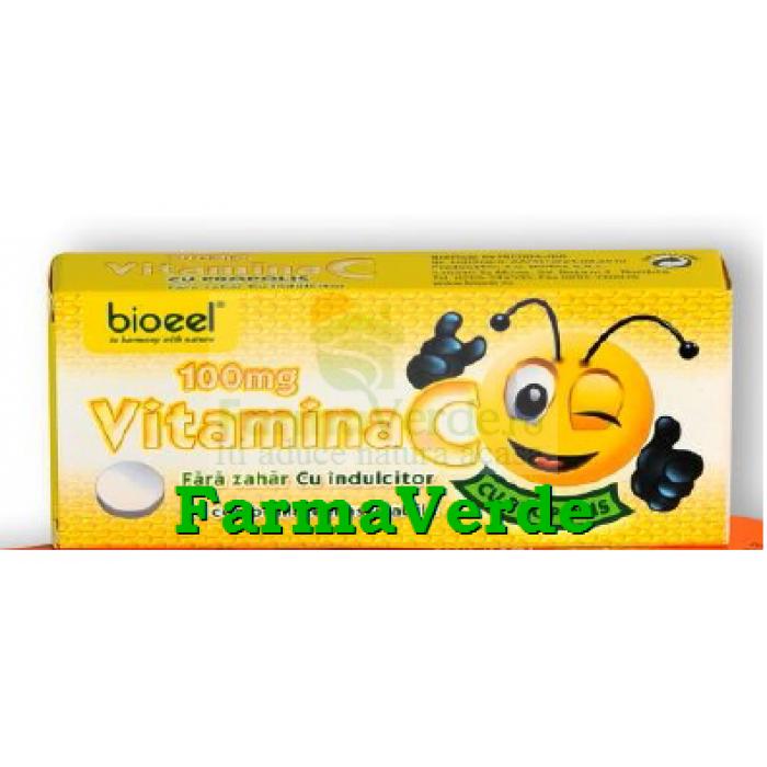 Vitamina C cu Propolis 20 comprimate Bioeel