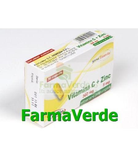 Vitamina C+ Zinc 30 capsule Remedia