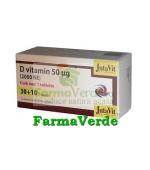 Vitamina D 50µg 2000 NE 30+10 tablete GRATIS! Magnacum