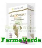 Vitamina PPU sanatatea parului,unghiilor 30 capsule Vita Care