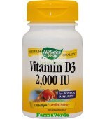 Vitamina D3 2000UI (adulti) 120 capsule Nature's Way Secom