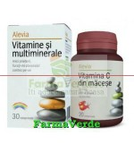 Promotie! Vitamine si multiminerale + Vitamina C macese Alevia