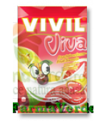 VIVIL Bomboane cu aroma de fructe cu Vitamina C 145 gr