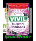 VIVIL Coacaze negre cu vitamina C fara zahar 60gr