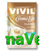 VIVIL Bomboane Cafea Latte Macchiato fara zahar 110gr