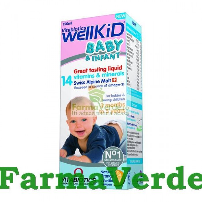 Wellkid Baby Sirop 150 ml Vitabiotics