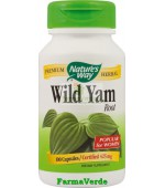 Wild Yam 100 capsule Spasme Uterine si Renale Nature's Way Secom