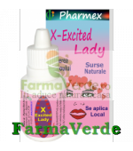 X EXCITED LADY Cresterea Libidoului 10 ml Pharmex