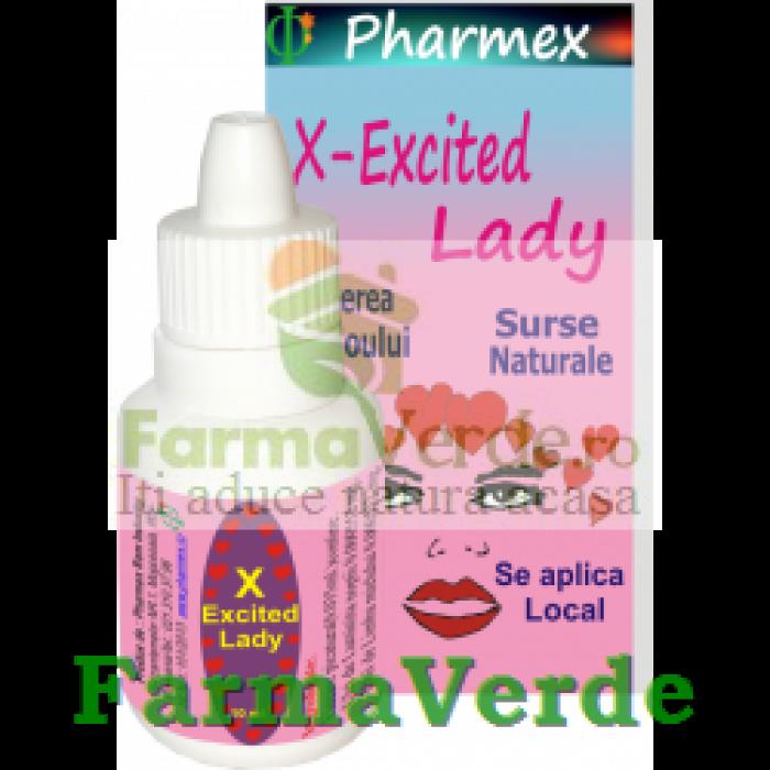 X EXCITED LADY Cresterea Libidoului 10 ml Pharmex