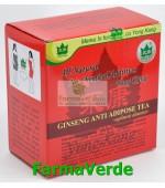 Yong Kang Ceai Antiadipos Rosu+Ginseng 30 doze