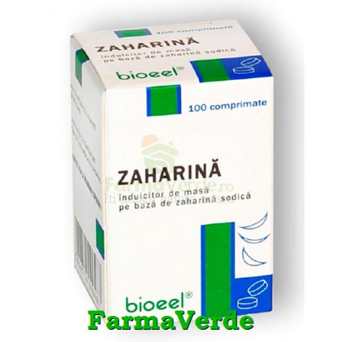 Zaharina 19 mg 100 comprimate Bioeel