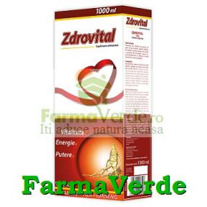 Zdrovit ZDROVITAL TONIC Vitalitate, energie, putere 500 ml