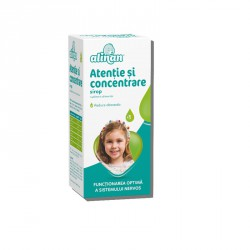 ALINAN ATENTIE SI CONCENTRARE SIROP (fost BioCebral Sirop 150 ml) Fiterman Pharma