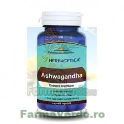 ASHWAGANDHA 60 capsule Herbagetica