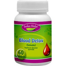 Blood Detox Detoxifiere 60 tablete Indian Herbal