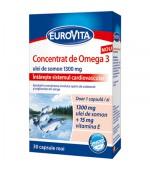Eurovita Concentrat de Omega 3 30Cps Europharm