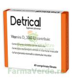 Detrical Vit D3 2000iu 60 comprimate Zdrovit