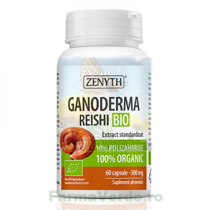 Ganoderma Reishi Ecologica/Bio 300 mg 60 capsule ZENYTH PHARMA