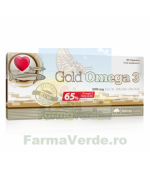 Gold Omega 3 Ulei de peste oceanic 60 capsule (tratament 2 luni) Darmaplant
