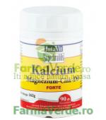 Calciu Magneziu Zinc si Vitamina D3 Forte 90 comprimate Magnacum Med
