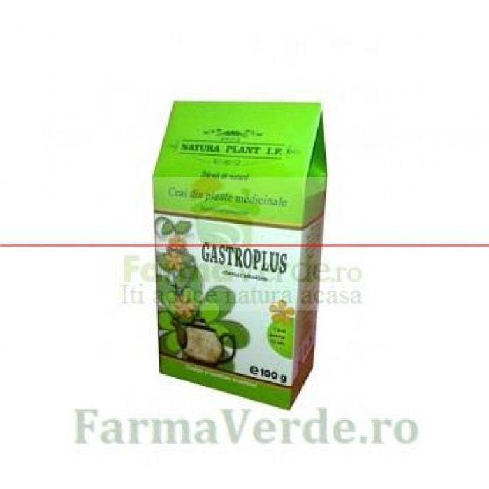 Ceai Gastroplus 100 gr Natura Plant IF