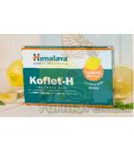 Koflet-H cu aroma de lamaie 12 pastile de supt Prisum Himalaya