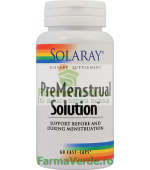 Premenstrual Solution 60 Capsule Solaray Secom